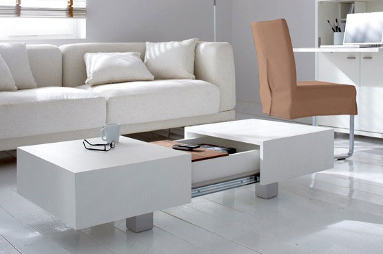Matchbox table by Schulte Furniture