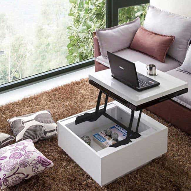 11 Stylish Space Saving Coffee Tables Vurni