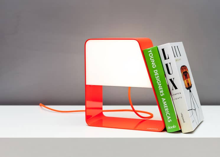 Ludovica lamp bookend combo