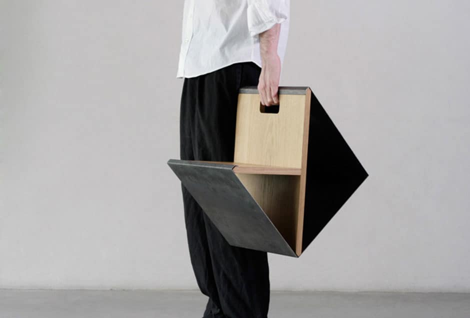 Steel-stool-portable