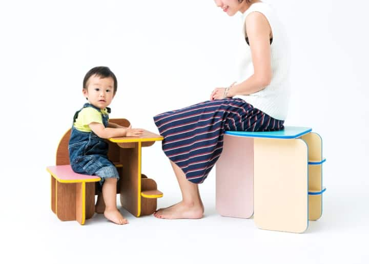 Beautiful Dice Children Furniture For Child And Mam