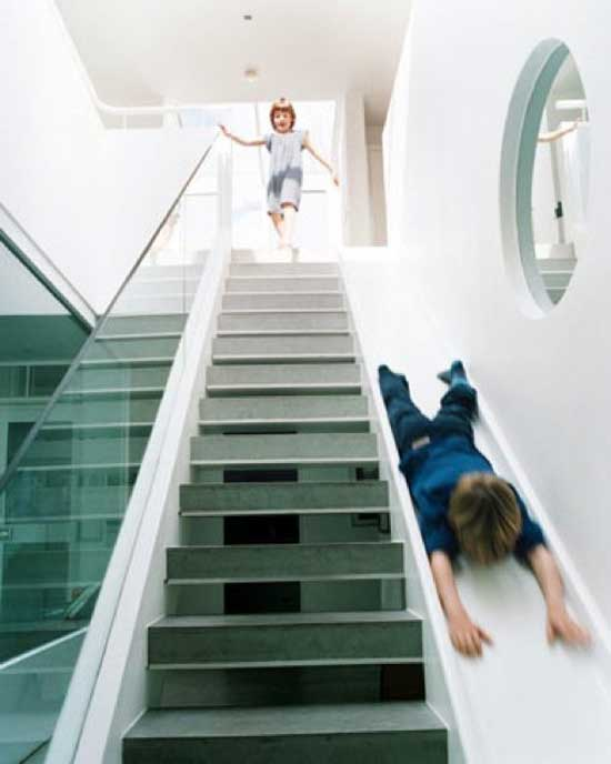 Exceptional A Staircase And Slide In One London