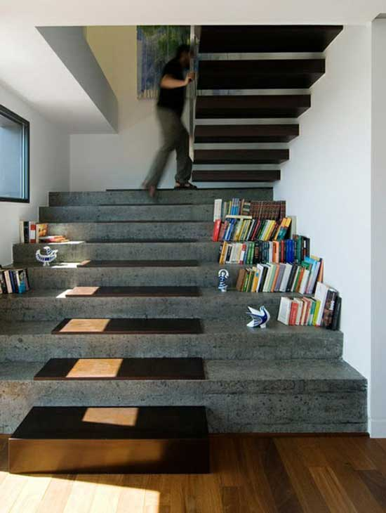 15 unique space saving multifunctional staircases vurni - Stairs design inside house ...