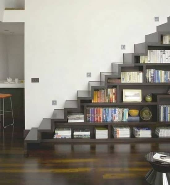 17 Unique Space-Saving Multifunctional Staircases