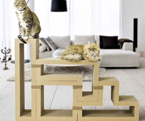 Charming Eco Friendly Pet Furniture For Your Furry Friends: 16 Stylish Space-Saving Pet Furniture Pieces