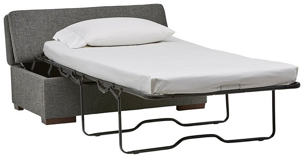 If Youu0027re Looking For A Classy Ottoman That Also Doubles As A Cozy Guest Bed,  The Rivet Ottoman Is Right Up Your Alley. This Wonderful Piece Of  Space Saving ...
