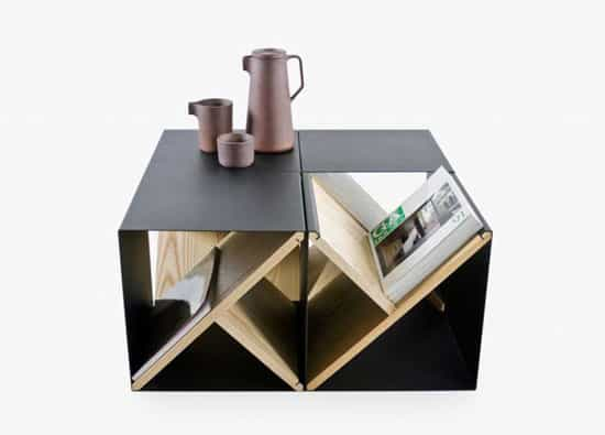 The Steel Modular Stool Is A True Double And Triple Duty Product. Besides  Its Use As A Small Side Table (which All Stools Do) It Has Some Additional  Uses.