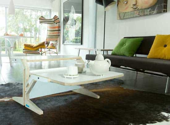 How Much Functionality Can You Cram In One Small Sized Piece Of Furniture  While Still Making It Look Elegant? A Lot With This Vegetale Coffee Table.