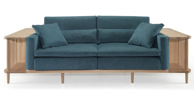 Delicieux Scaffold: A Multifunctional Sofa That Can Be Used As Sofa And Bookshelf.  Entirely Hand Made Of Solid Wood And Equipped With Interchangeable Cushions  ...