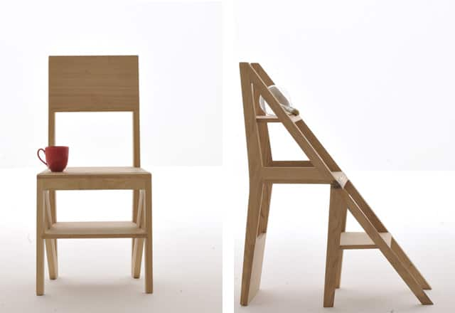 Scala Chair And Stepladder