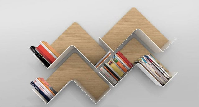 Fishbone-shelf-adaptable