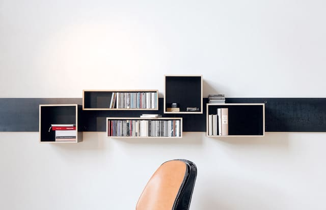 Magnetic Shelving System