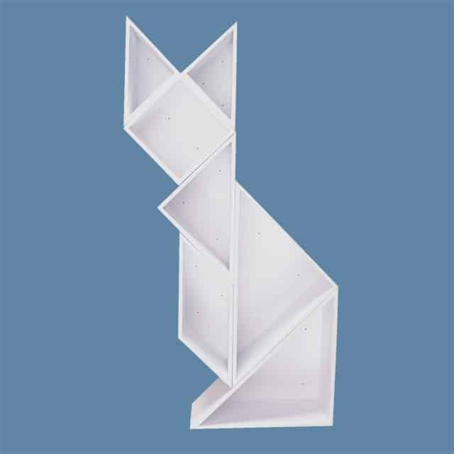 Tangram-wall-storage