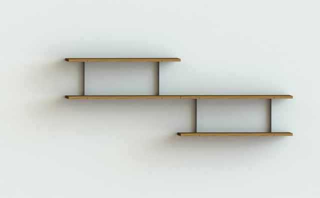 The Idea Of Connecting Wall Shelves Had Never Occurred To Me Until Now I Always Thought Them As Floating Islands Made Metal Or Wood But Wandt
