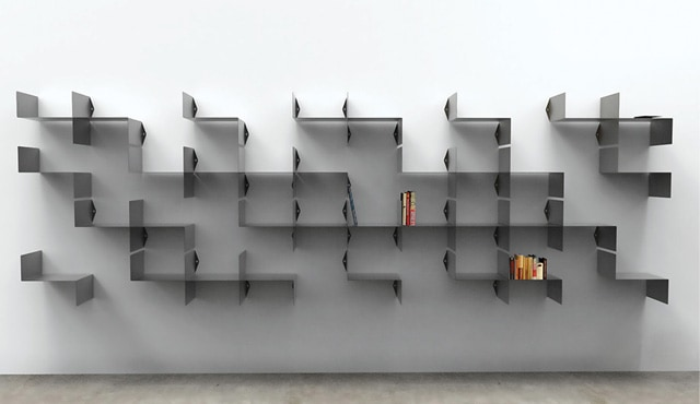 23 Uberstylish Modular Wall-Mounted Shelving Systems – Vurni