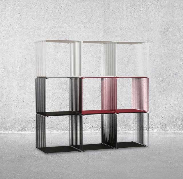 The Panton Wire Modular Shelf Doesnu0027t Stop There, However U2013 Itu0027s Also Wall  Mounted And Moonlights As A Side ...