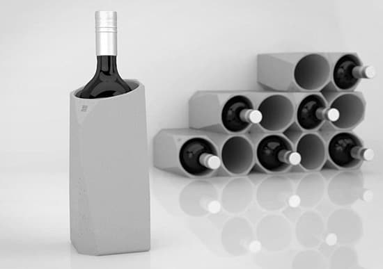 Corvi-Concrete-Wine-Holder
