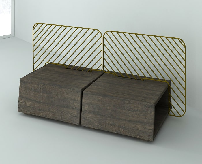FOREST design bench