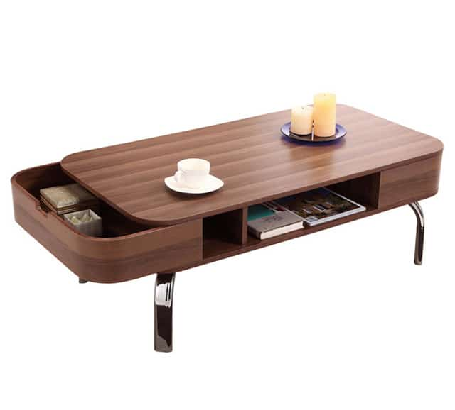 IoHomes Coffee Table With Drawers