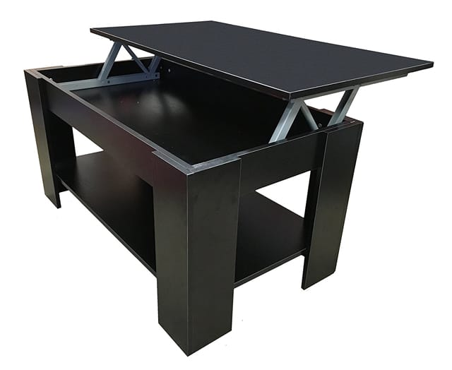 So You Can Use This Table Both As A Traditional Coffee Table Or As A Laptop  Workstation. Moreover, This Table Has Inside Storage ...
