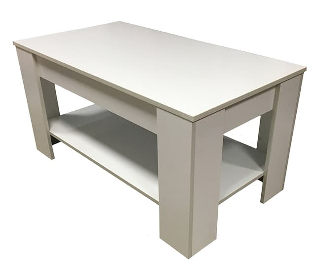 Redstone White Coffee Table