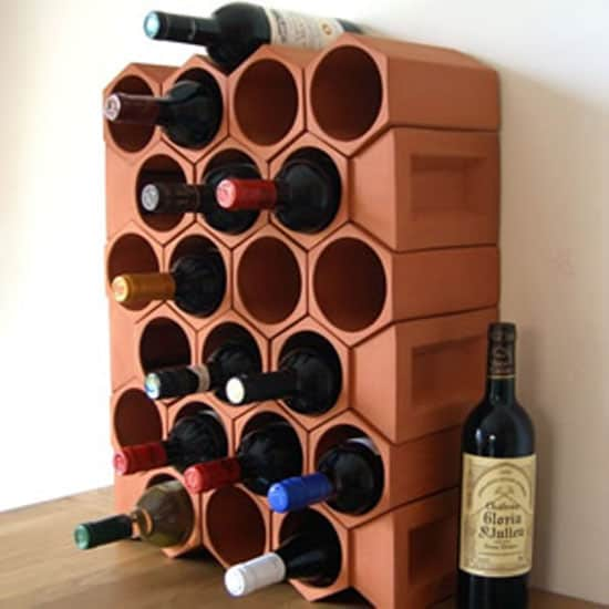 Terracotta-wine-rack-Weston-Mill-Pottery