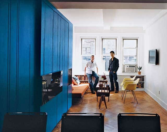 Unfolding House Space Saving Renovation In New York