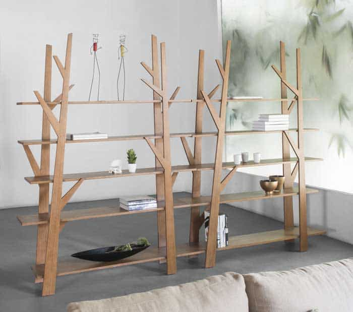 38 Freestanding Shelving Systems That Double As Room