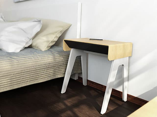 This Nightstand Does Everything A Regular Can But There S More To It Than Meets The Eye Automatic Led Lights Turn On Through