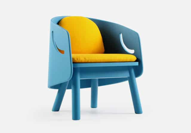 Elephant And Chair For Kids