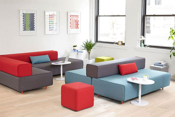 25 Modular Office Seating Systems – Vurni
