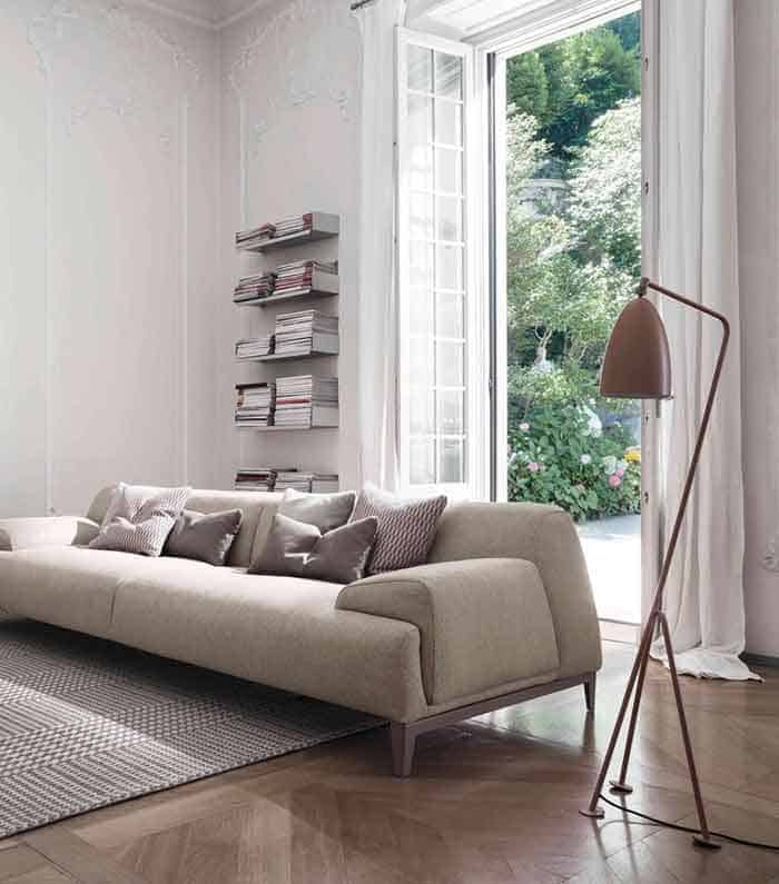 Cave-sofa-with-chaise-longue-Bonaldo