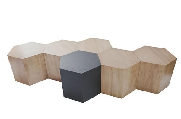 Hexagon Modular Honeycomb-Shaped Furniture System – Vurni