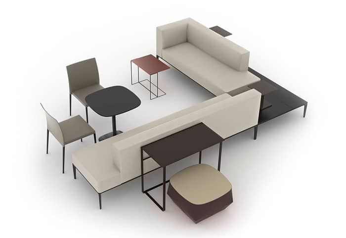 Ordinaire The Jaan Bench From Designer EOOS Offers Double Sided Seating With  Configuration Options Galore.