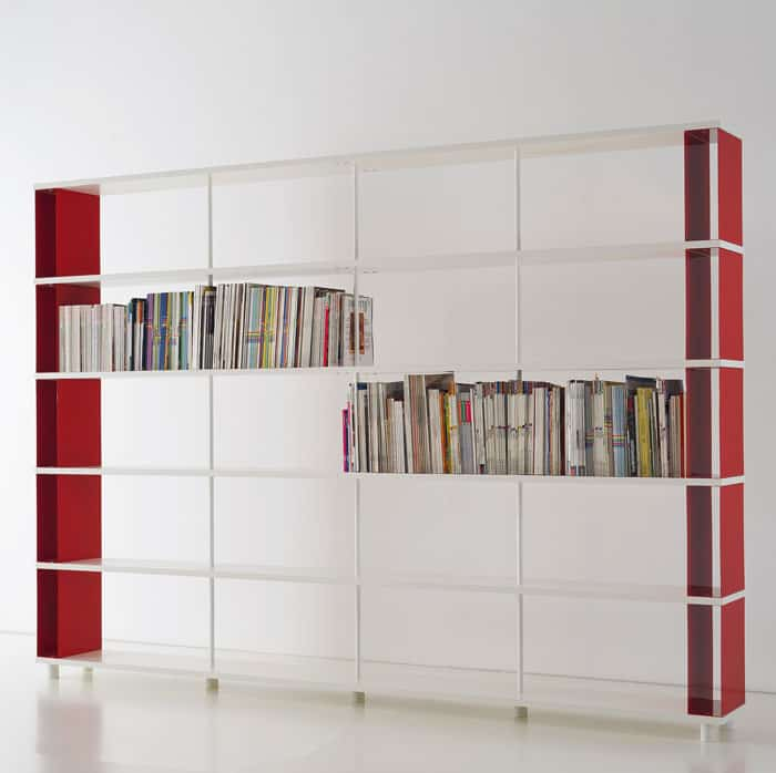 all wood bookcases aluminum modular contemporary shelf and architecture lacquered bookcase design manufacturer book