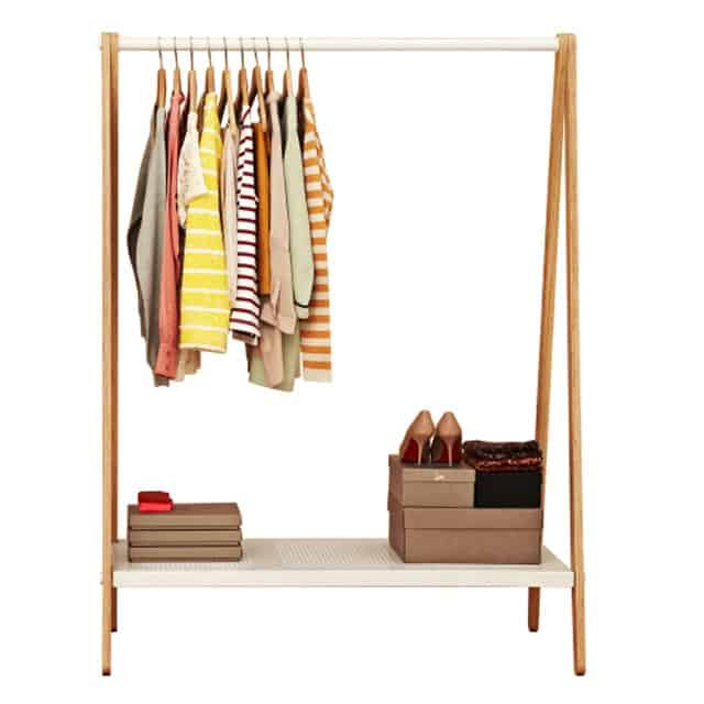 Toj Clothes Rack Stand Cloth Shoe