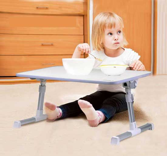 Working Moms Will Love The Avantree Laptop Desk Your Workstation Can Double As A Play Table For Little One You Don T Need To Worry About It Getting