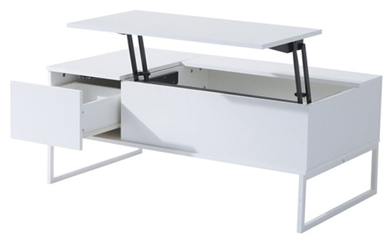 Able To Fold And Rise At Diffe Levels The Modern Lift Top Coffee Table Also Doubles As A Desk Dining
