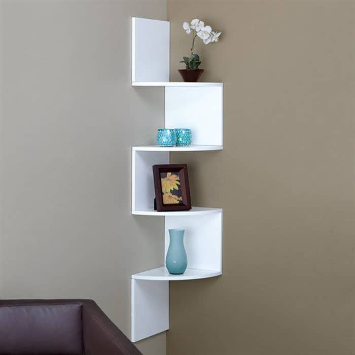Provo Corner Mounted Shelf