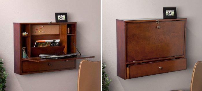 17 Wall Mounted Desks For Small Spaces Vurni