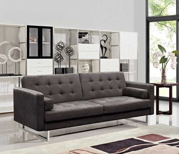 modern leather sofa bed. Contemporary Leather Claire Sofa U0026 Sofabed Intended Modern Leather Bed