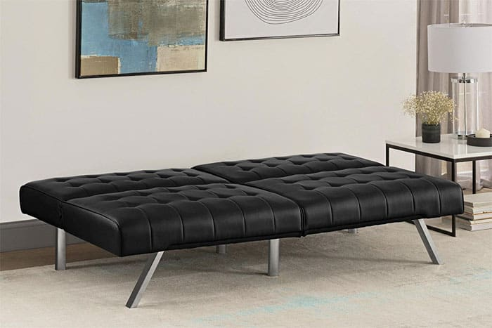 Say Goodbye To Stuck On Stains Your Emily Futon Sofa Bed This Modern Couch Is Easy Clean And Comes With A Luxurious Design For Cheap