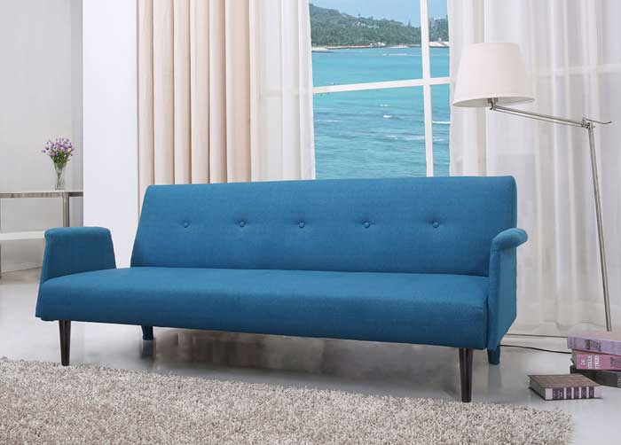 A Couch Bed The Westminster Convertible Sofa Bed has a sleek design and the perfect  size for a small living room. Need a bed for one of the guests?