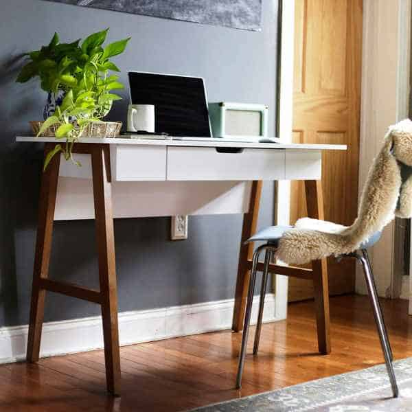 26 Modern Small Home Office Desks Vurni