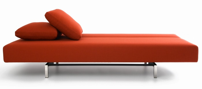 Bensen S Sleeper Sofa Bed Has A Surprisingly Smooth Shape And Tastefully Modern Design