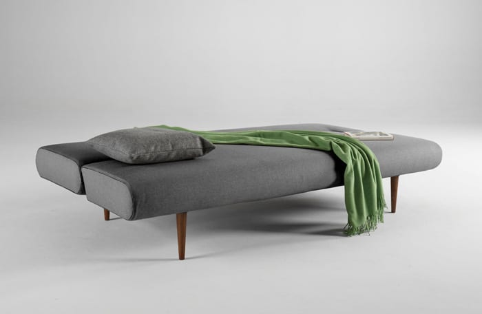 The Unfurl Sofa Bed Is A Modern Redesign Of Old Trusty Futon Will Make Your Guests Wonder How Much You Paid For This Sleek Polished Piece Before