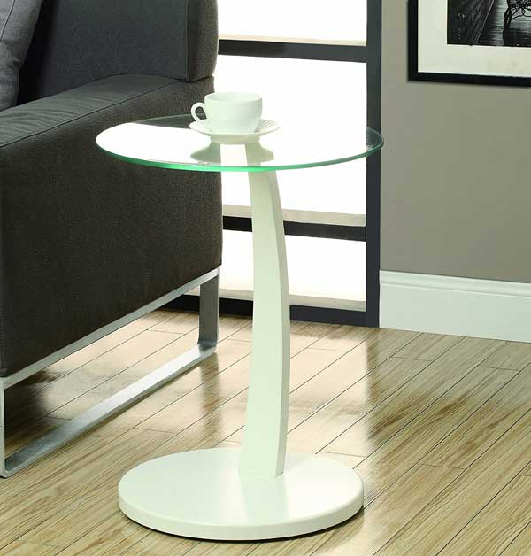 Elegant Bentwood Accent Table