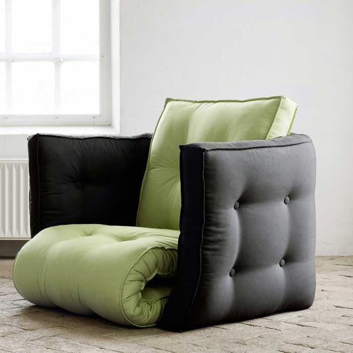 1. Dice Futon Chair