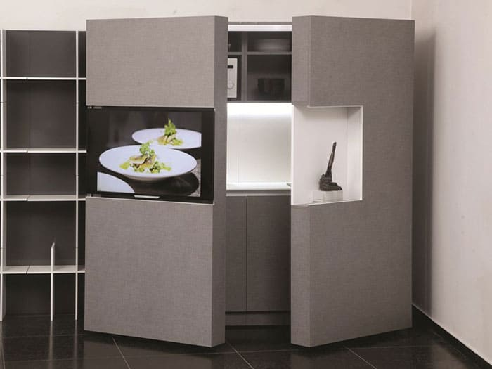 The Pop Up Kitchen PIA Is An Entire Room In What Is Normally The Space Of A  Closet.