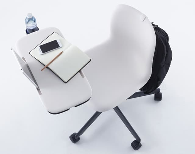 Sixe Learn Ergonomic Chair With Integrated Desk Vurni